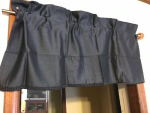 Image Is Loading Royal Velvet Supreme Rod Pocket Insert Valance 41