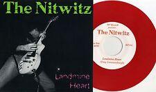 "Nitwitz - Landmine Heart 7"" RED VINYL B.G.K. Hydromatics Holland Dutch Punk KBD"