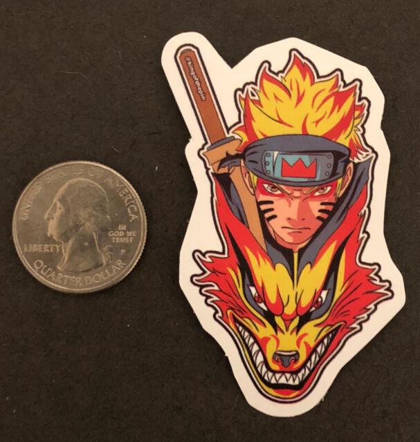 uzumaki anime kurama sticker ebay