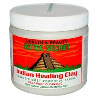 Aztec Secret, Indian Healing Clay, Facial - 100% Natural Calcium Bentonite Clay