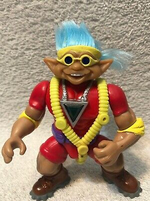 Rare Stone Protectors Clifford The Rock Climber Troll Figure Vintage Loose Action Figure Hasbro 1993 Vintage Fun toy!