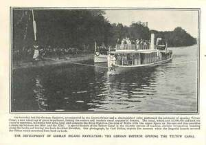 1906-The-German-Emperor-Opening-The-Teltow-Canal