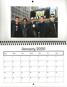 New Kids On The Block 2020.Details About New Kids On The Block 2020 Photo Calendar