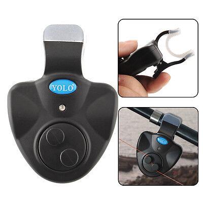 Elektronisch Bissanzeiger Fisch Finder Glocke Mit LED Licht Clip-on-Fischen-Tool