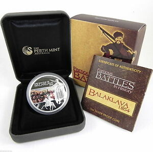 2009-1-FAMOUS-BATTLES-IN-HISTORY-BALAKLAVA-Silver-Proof-Coin
