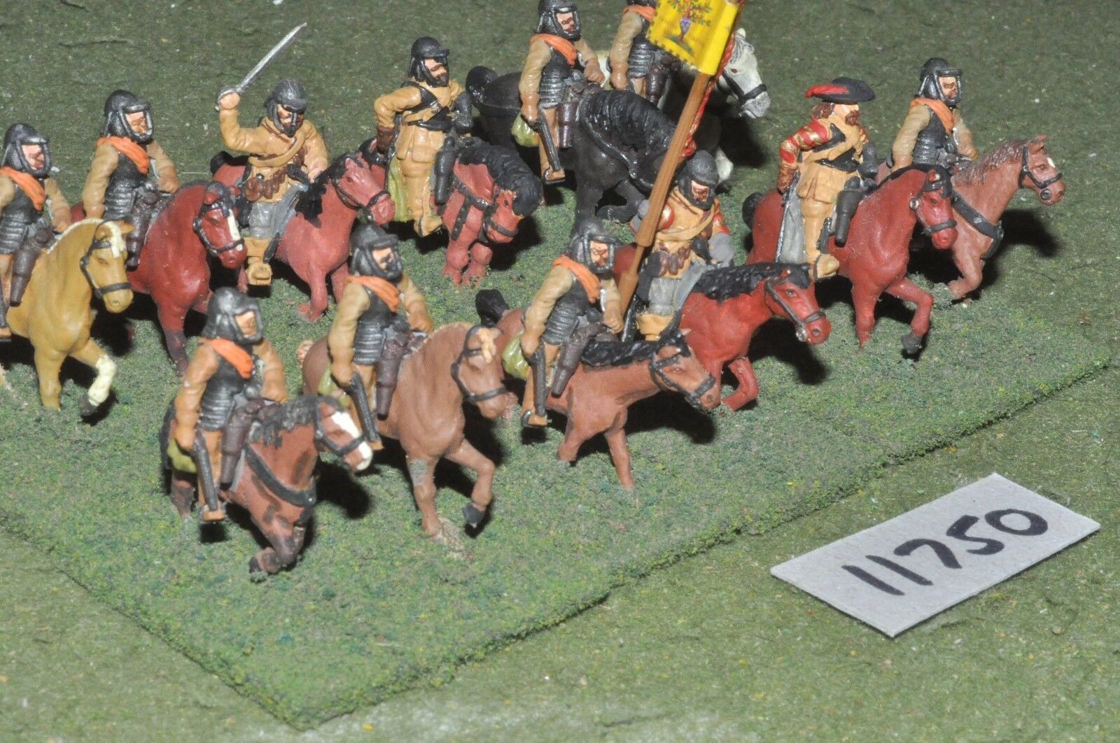 25mm ECW   english - civil war cavalry plastic 12 cavalry - cav (11750)