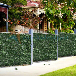 Artificial Ivy Green Leaf Privacy Fence Gate Screen Panels