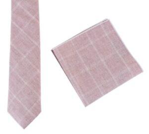 33ceb4938549 Image is loading Knightsbridge-Neckwear-Mens-Cotton-Tie-and-Pocket-Square-