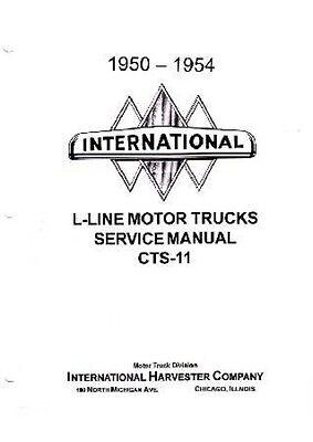1951 1952 1953 1954 international l r shop service repair manual book oem guide ebay 1946 international harvester truck