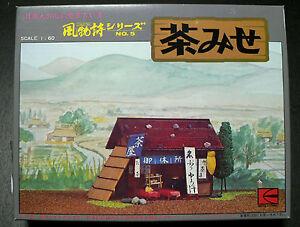 JAPANESE CHA MISE ( TEA SHOP ) 1/60 MODEL KIT KAWAI JAPAN