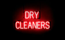 Spellbrite Ultra Bright Dry Cleaners Sign Neon Look Led Performance