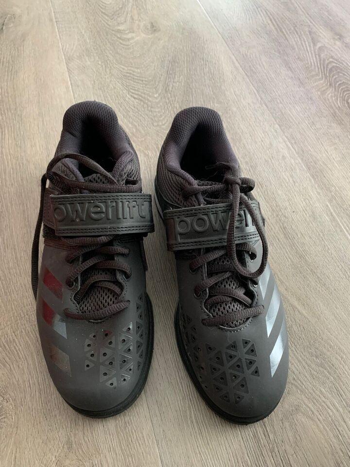 Fitnesssko, Vægt løfter sko , Adidas