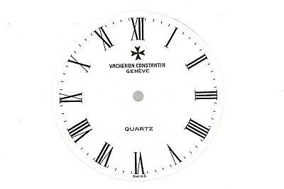 VACHERON CONSTANTIN Quartz NOS Vintage White Dial 25 mm Roman Numerals  (ZB287)   eBay