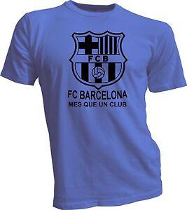 FC Barcelona España Spain Soccer Futbol T Shirt Camiseta - Mes que ... 861fa78d26183