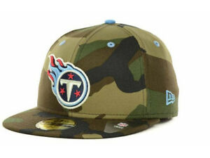 f154a4dcccf Official Tennessee Titans New Era NFL Camo Pop 59FIFTY Fitted Hat