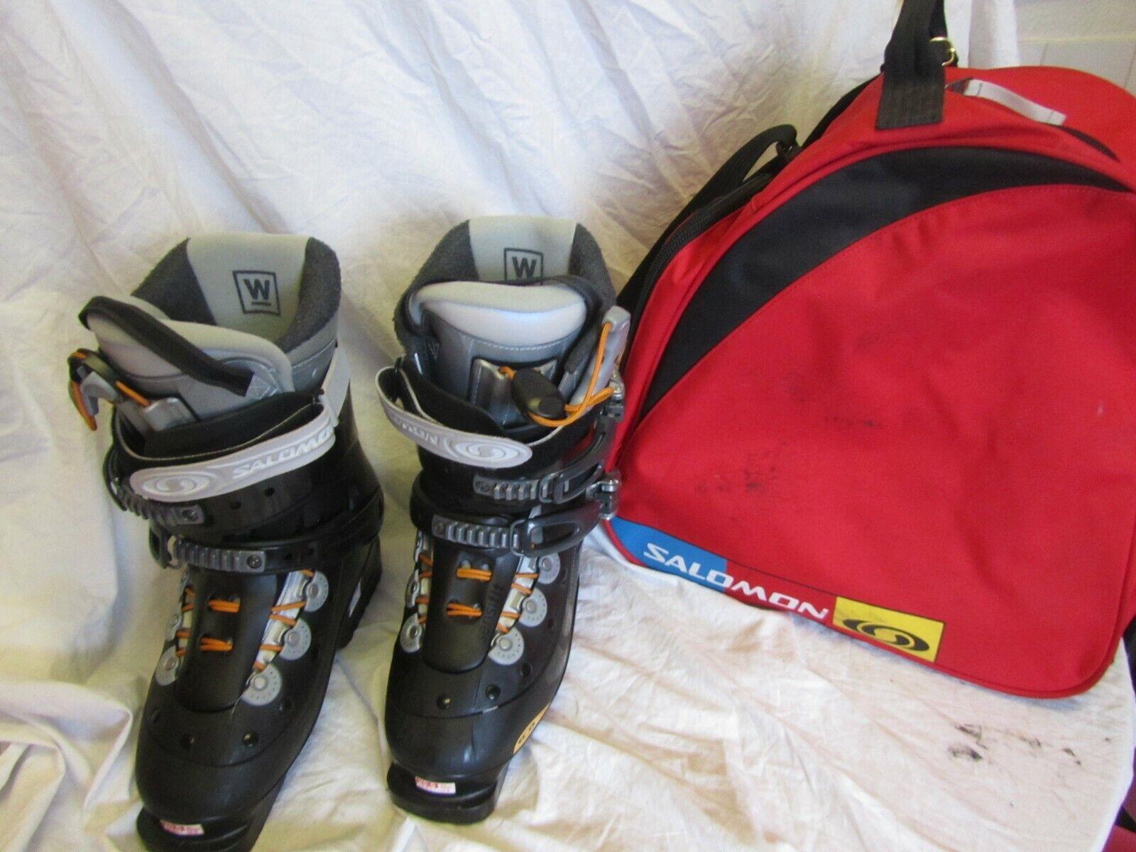 Salomon Verse AF Ski Stiefel UK Größe 6.5 & Carry Case