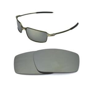 3a5097aec6 La imagen se está cargando NUEVO-POLARIZADAS-Personalizables-Titanio-Lentes -Para-Oakley-Alambre-