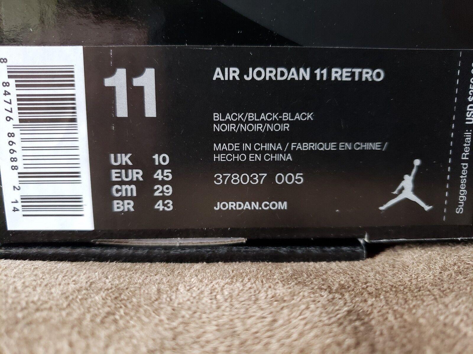 Air Jordan Retro 11. Cap And Gown. Men's Size 11. New In Box