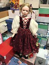 Künstlerpuppe Porzellan Puppe ca. 74 cm. Top Zustand