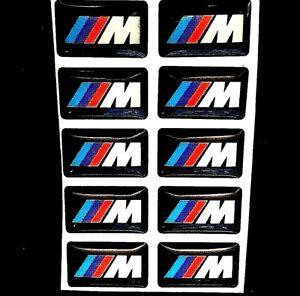 10-PZ-M-SPORT-RUOTA-BADGE-3D-Emblem-Adesivo-Decalcomania-Ruota-adatta-per-B-M-W