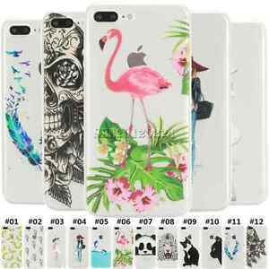 Ultra-Thin-Clear-Rubber-Silicone-Soft-TPU-Case-Cover-For-Apple-iPhone-5S-6S-7-P