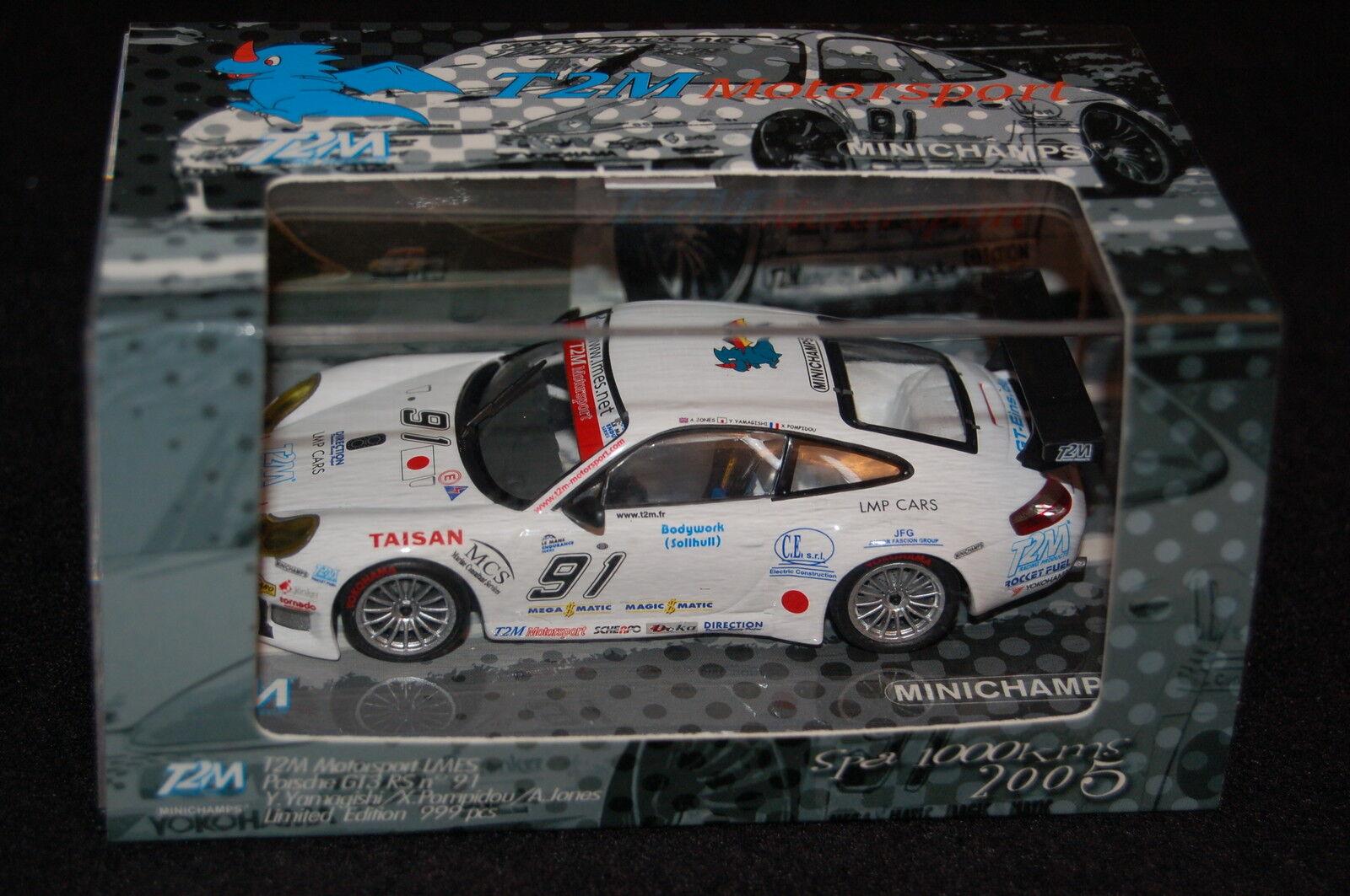 PORSCHE 911 GT3 GT3 GT3 CUP T2M SPA - MINICHAMPS 1 43 - 999 PCS 403056991 521e29