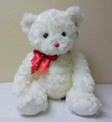 "White NWT Bearington Bears 30/"" /""LOTS OF LOVEABLE/"" Valentine/'s Day Bear MINT!"