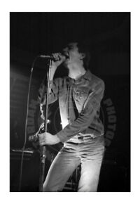 Ian Curtis (#11), Joy Division, Paradiso, Amsterdam '80 - signed by photographer