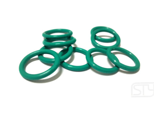 10*Oil Resistant FKM Viton Seal Fluorine Rubber 2.4mm O-Ring Sealing Ring 7-33mm