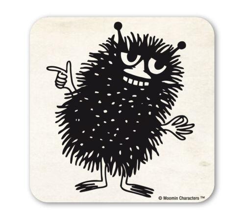 LOGOSHIRT Coaster Cartoon: Mumins: Stinki: Stinky Untersetzer Bierdeckel