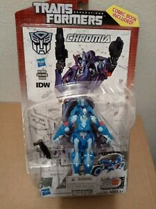 Transformers Generations Deluxe Class CHROMIA Brand New MOC