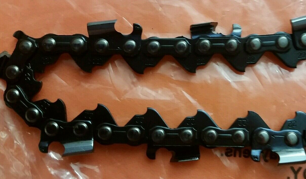 """Chainsaw Guide Bar 18/"""" W// 2x Chain .063 .325 68DL For Stihl MS 230 250 251 Spare"""