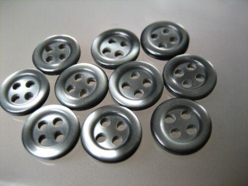 10mm #04-10x Mini-Knöpfe Blusen zur Wahl für Puppen
