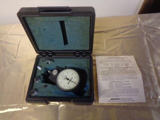 Vintage Jones Portable Tachometer Type 4800 Coda AA Range 50 - 50,000 w/ Case