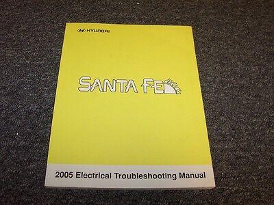 2005    Hyundai       Santa       Fe    Electrical Wiring    Diagram    Manual