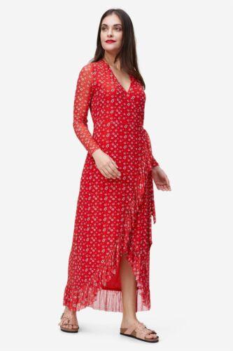 NA-KD 64 € Wickelkleid Damen tailliert leger in 2 Farben erhältlich NEU