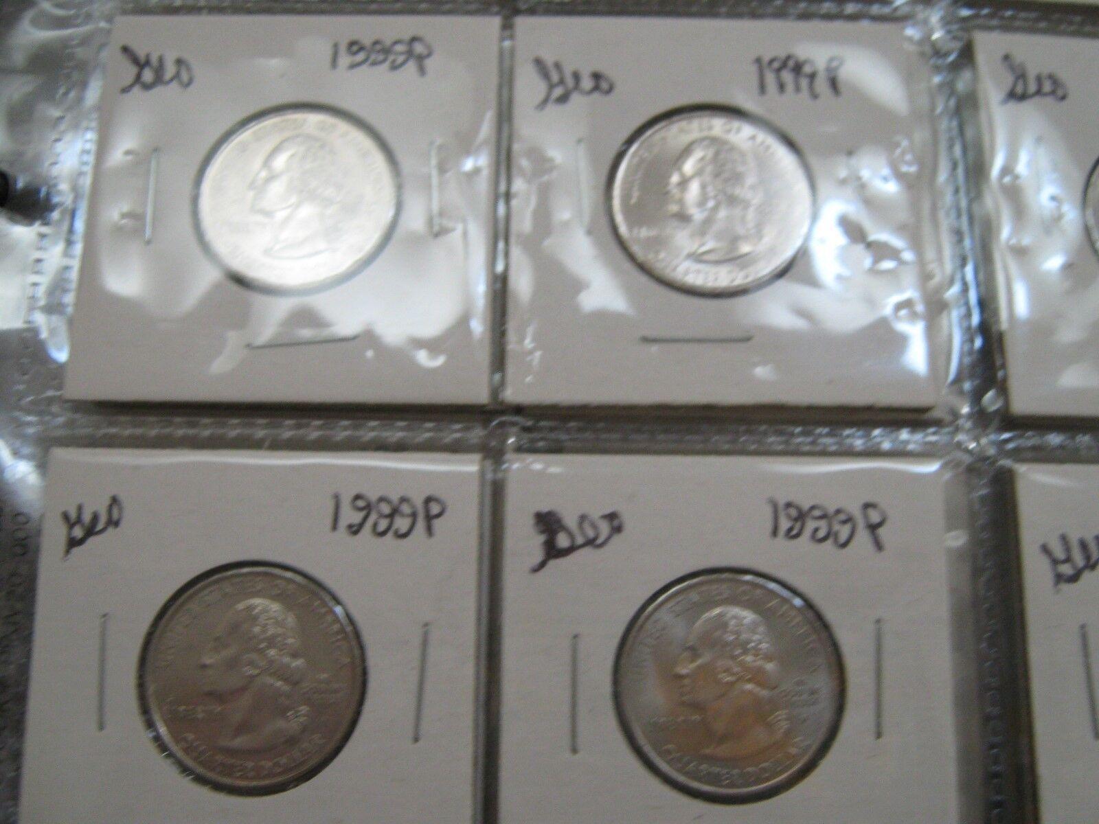 Washington Quarters , 1972 - 2007 , MIxed Lot , 175 Coi