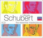 Ultimate Schubert: The Essential Masterpieces [Box Set] (CD, Sep-2007, 5 Discs, Decca)