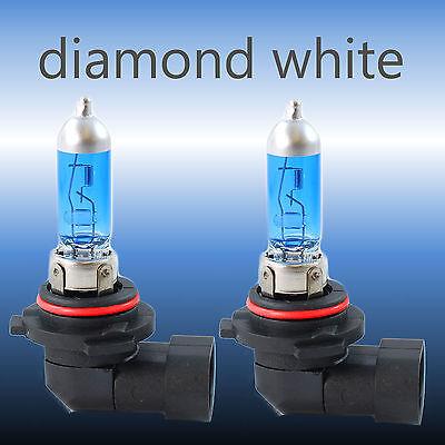 Mitsubishi Lancer MK10 HB4 55w Super White Xenon HID Low Dip Headlight Bulbs