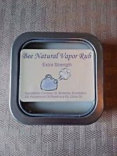 NATURAL Extra Strength Chest Vapor Rub - Congestion - Better than Vicks - 2oz