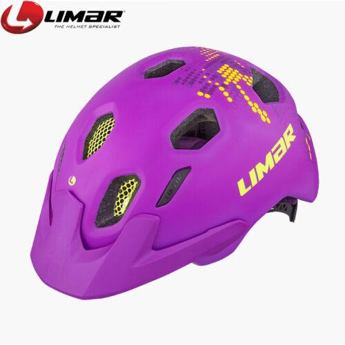 325g Violet Purple Limar Champ Kids Youth Bike Helmet Size M 52-58cm