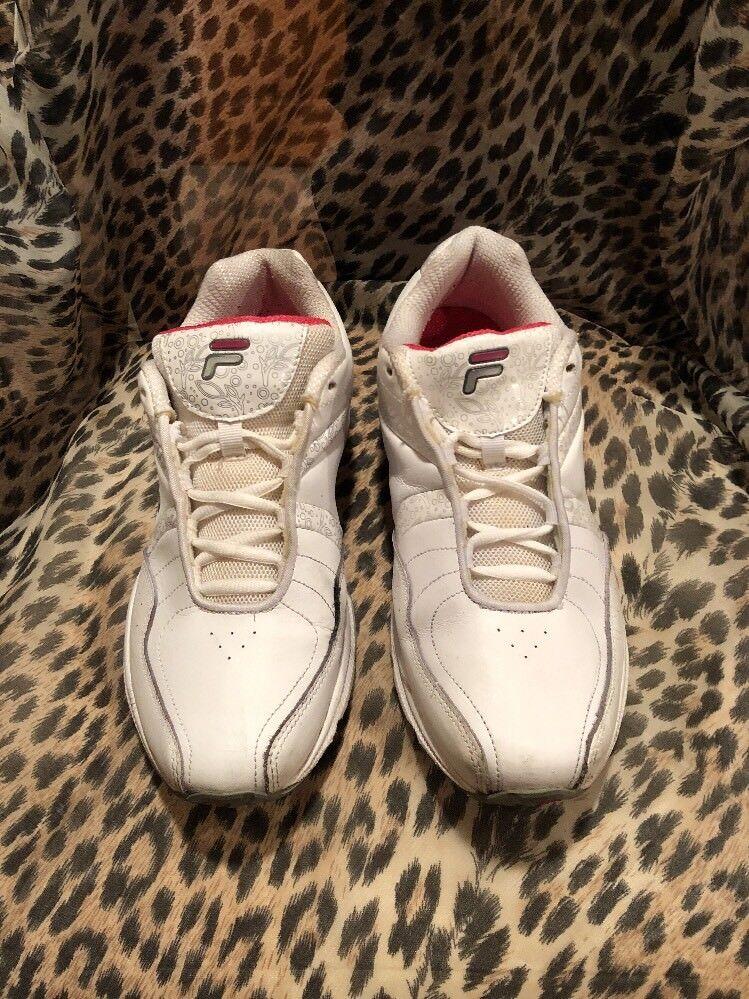 FILA Admire Women's 11 US Athletic Sneaker 5HGW3000-173 White Wild casual shoes