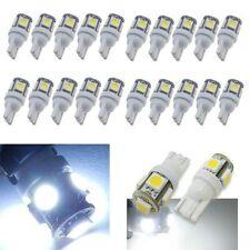 20pcs T10 5050 5SMD Car Auto Light Bulbs White LED Wedge Lamp Super Bright 12V