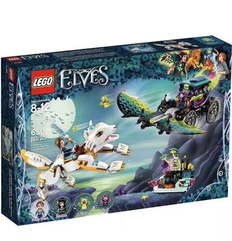 Lego Elves 41195 Emily & Noctura's Showdown Brand New Sealed