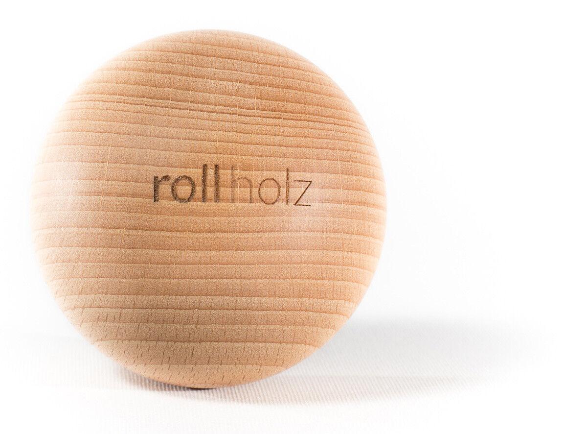 Rollholz Faszienkugel   Massage-kugel Aus Buche Braun Braun Braun von Rollholz a4bac1