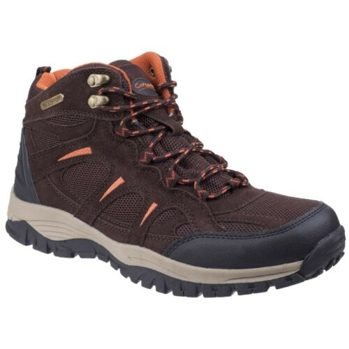 Mens Stowell Waterproof Hiking Walking Boots Outdoor Shoes Sizes EU 41-46