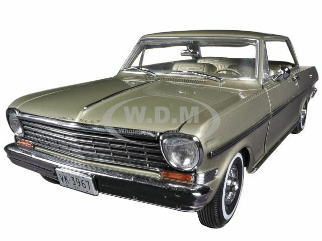 1963 CHEVROLET NOVA NOVA NOVA HARD TOP AUTUMN gold 1 18 DIECAST MODEL CAR BY SUNSTAR 3967 9d3410