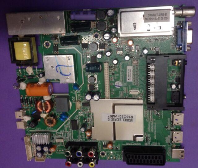 S22FED12 515C3212M07 M07/A52636/17 Main Board/ Powersupply (ref N1860)