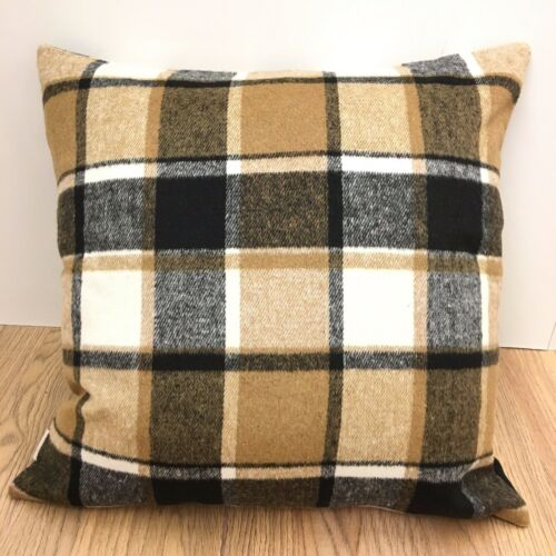 BROWN check Tweed Cushion Cover.Various sizes 460