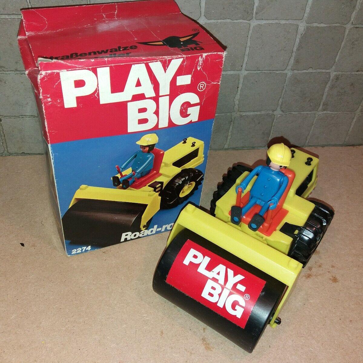 Playbig Playbig Playbig 2274   engin de chantier, rouleau. 55e274